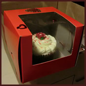 Standard boxe packaging for cupcakes